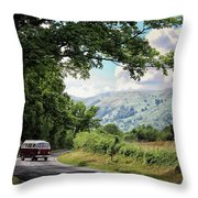 Camper Travels Throw Pillow
