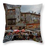 Campo Dei Fiori Throw Pillow
