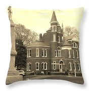 Campus View Throw Pillow