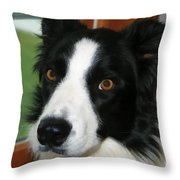 Can I Go Out Throw Pillow