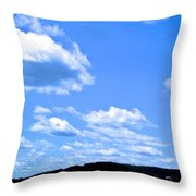 Can I Hitch A Ride? Throw Pillow