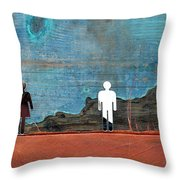 Can I See You Throw Pillow