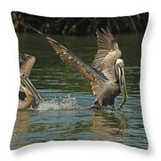 Can You Catch Me Throw Pillow