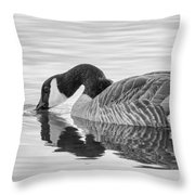 Canada Goose I Throw Pillow