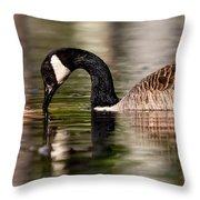 Canada Goose Reflections Throw Pillow