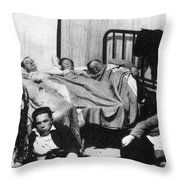 Canada: Great Depression, 1930 Throw Pillow
