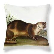 Canada Otter Throw Pillow