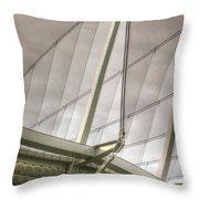 Canada Place Wings  Throw Pillow
