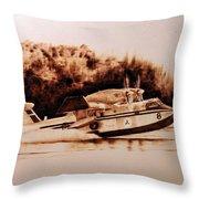 Canadair Throw Pillow