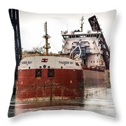 Canadian Laker Thunder Bay Throw Pillow