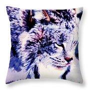Canadian Lynx 1 Throw Pillow