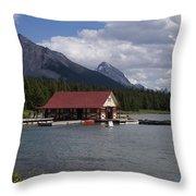Canadian Rockies # 10 Throw Pillow