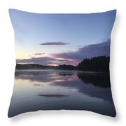 Canadian Sunrise Throw Pillow