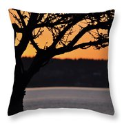 Canadian Sunset Throw Pillow