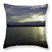 Canadian Sunset Throw Pillow