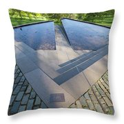 Canadian War Memorial Green Park London Throw Pillow