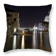 Canal Grande - Venice Throw Pillow