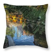 Canal View  Throw Pillow
