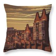 Canalside Living Throw Pillow