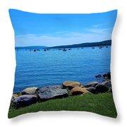 Canandaigua Lake  Throw Pillow