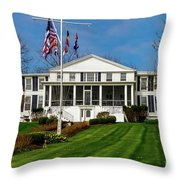 Canandaigua Yacht Club Throw Pillow