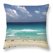 The Best View Of The Beach Throw Pillow