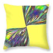 Candid Color 12 Throw Pillow