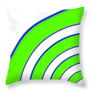 Candid Color 13 Throw Pillow