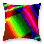 Candid Color 15 Throw Pillow