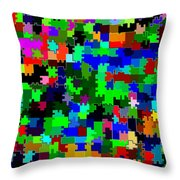 Candid Color 2 Throw Pillow