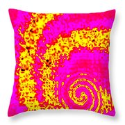 Candid Color 3 Throw Pillow