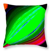 Candid Color 5 Throw Pillow