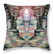 Alignment Throw Pillow