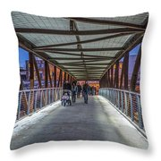 Candlelight Hike  Throw Pillow
