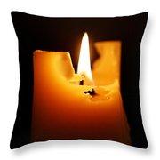 Candlelight Throw Pillow