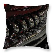 Candy Apple Bullets Throw Pillow