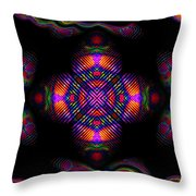 Candy Art Throw Pillow