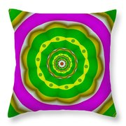 Candy Colors Liberation Throw Pillow