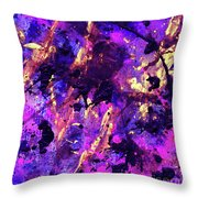 Candy Colours Abstract Throw Pillow