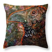 Candy Crow Throw Pillow