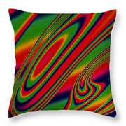 Candy Drop Throw Pillow