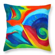 Candy Flip Throw Pillow