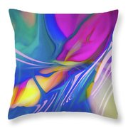 Candy Twist Throw Pillow