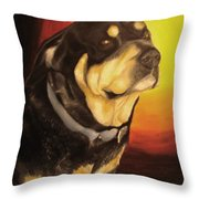 Canine Vision Throw Pillow