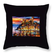 Cannes - France Throw Pillow
