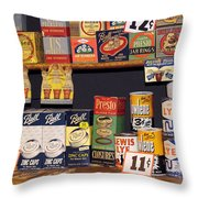 Canning With Grandma Throw Pillow