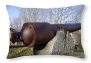 Cannon - York Maine Usa Throw Pillow