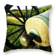 Cannon At Antietam Throw Pillow