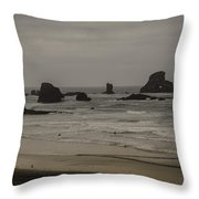 Cannon Beach 1 Throw Pillow