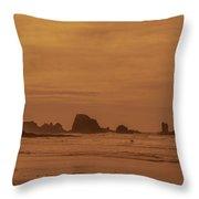 Cannon Beach 4 Throw Pillow